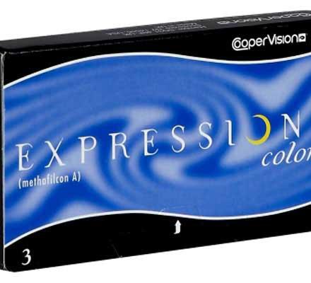لنزهای رنگی Expressions